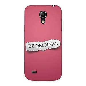 Enticing Be Orignal Multicolor Back Case Cover for Galaxy S4 Mini