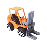 Homeofying 6Pcs Mini Pull Back Engineering Vehicles Simulation Model Kids Children Novelty and Funny Toy For Baby Boy Girl