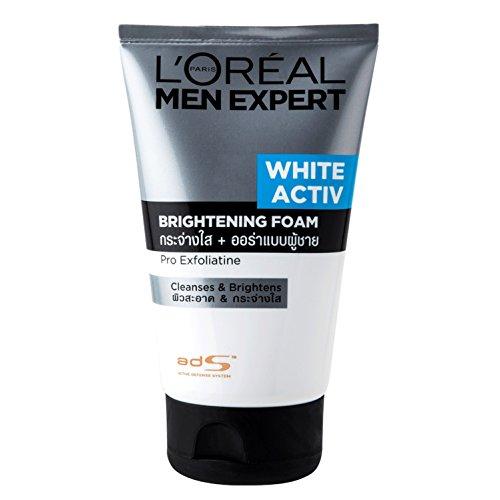 L'Oreal Paris Men Expert White Activ Brightening Foam, 100ml