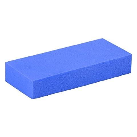 Water Absorbing Glass Clean Washing Blue Sponge Block
