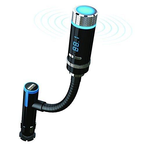 Trasmettitore FM, Breett Bluetooth 4.0 Ricevitore Auto Audio Wireless Radio FM Trasmettitore Stereo Mp3 Player (Frequenza Completa Trasmettitore Fm)