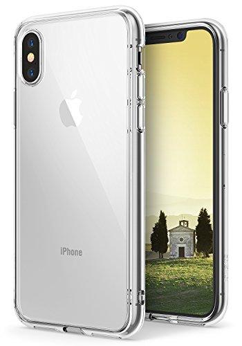 Ringke Fusion Diseñado para Funda Apple iPhone X, Transparente al Dorso Carcasa iPhone X 5.8' Protección Resistente Impactos TPU + PC Funda para iPhone X 2017 - Clear