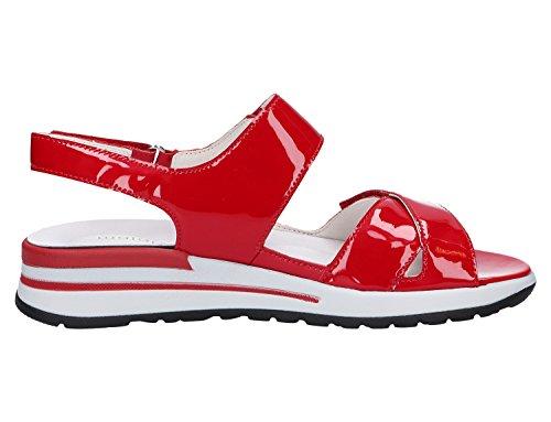 Waldläufer  315002-115-222, Sandales pour femme Rouge