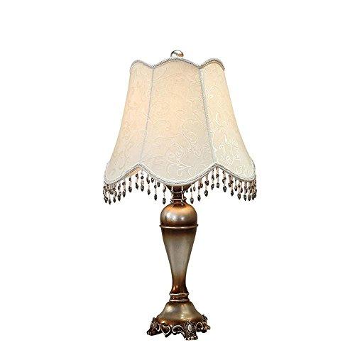 DENG Retro Tischleuchte, amerikanischer Stil, einfacher europäischer Stil, Schlafzimmer,...