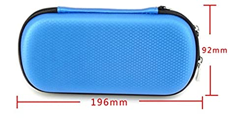 Stillshine USB Key Bag Big Capacité Universal Electronics Accessoires Case / USB Drive Shuttle Bag / Santé (blue)