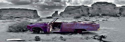 empire-426895-colour-light-poster-wrecked-cadillac-veicoli-auto-panorama-colorlite-door-dimensioni-1