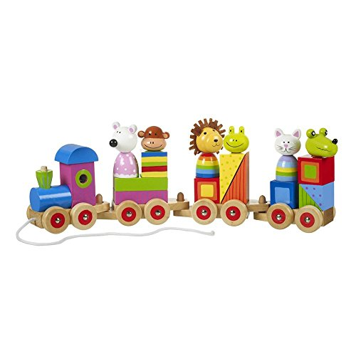 Orange Tree Toys - Trenino Puzzle per Animali