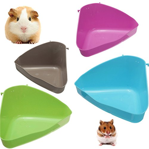 4ColorName Hamster coin toilettes Litire Souris Rat Lapin GuinŽe Plastique