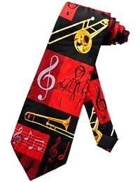 cravate Steven Harris chef d'orchestre et trombone - noir - taille unique