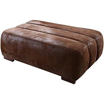 Eckgarnitur BEAN Leder cognac Couch Sofa Ecksofa