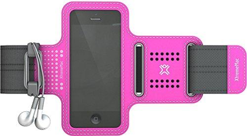 XtremeMac Sportwrap Universal Sport-Armband für Apple iPhone 5/iPod Touch pink Sportwrap Armband