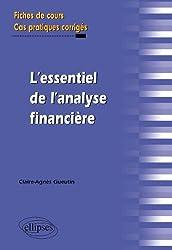 L'essentiel de l'analyse financière - Fiches de cours, Cas pratiques corrigés