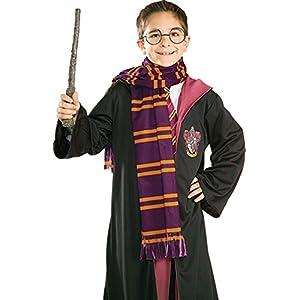 Harry Potter Scarf - Bufanda, accesorio de disfraz, Surtido: colores aleatorios 15