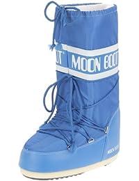 Tecnica Moon Boot Nylon Nero, Unisex-Kinder Outdoor SchneeStiefel