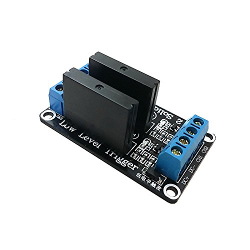 Preisvergleich Produktbild Ecloud Shop® 2-Kanal-5V OMRON SSR Solid State Relais-Board für Arduino Uno Duemilanove MEGA2560 MEGA1280 ARM DSP PIC
