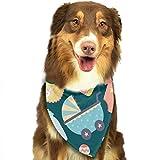 Osmykqe Hund Bandanas Cartoon Toy Einstellbare Hundehalsband Katze Schal Welpen Bandans Pet Zubehör