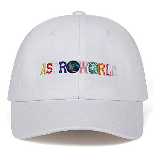 JKYJYJ Travi $ Scott Neuestes Album Astroworld Dad Hat 100% Baumwolle Hochwertige Stickerei Astroworld Baseball Caps Unisex Travis Scott -