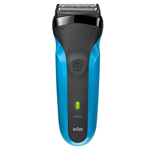 Braun Series 3 310s Rechargeable Wet&Dry Electric Shaver, blue  available at amazon for Rs.4727