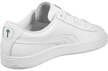 PUMA Basket White X Trapstar Schuhe Herren Sneaker Turnschuhe Weiß 361644 01 White