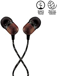 House of Marley Smile Jamaica in-ear hoofdtelefoon, 1-knops bediening, ruisisolatie, 9,2 mm drivers, microfoon