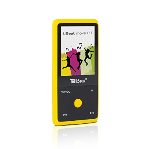 TrekStor i.Beat move BT (MP3-Player), 1,8 Zoll Display, 8 GB Speicher, Bluetooth, gelb