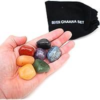 Spirit connexionstm 7Chakra poliert Trommelstein Set Tasche mit Kordelzug preisvergleich bei billige-tabletten.eu