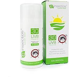 LOCIÓN SOLAR REPELENTE | Protección solar + antimosquitos