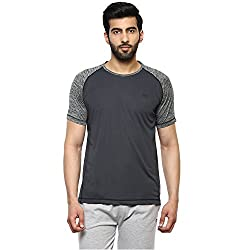Proline Mens Solid Regular Fit Active Base Layer Shirt (PA025_De_Large)