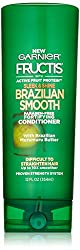 Garnier Hair Care Fructis Sleek and Shine Brazilian Smooth Conditioner, 12