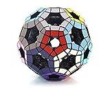 VIWIV Hollow Football Rubik'S Cube Decompression Puzzle Cubo Esférico Magic Rainbow Ball 3D Puzzle De Fútbol Magia Speed Cube Niños Juguetes Educativos para Niños Inteligentes