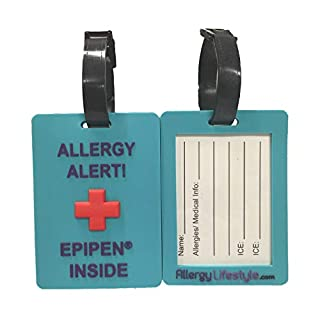 EpiPen® Tag: Allergy Alert – EpiPen® Inside Tag (Twin Pack)