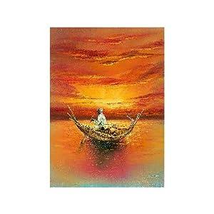 Renkalik renkalikqsipr18035x 50cm de Seda Sol impresión Hoja de Papel (Juego de)