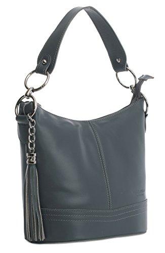 Big Handbag Shop, Borsa a mano donna One Grey