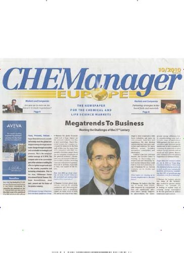 CHEManager Europe [Jahresabo]