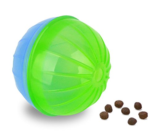 10196-jouet-intelligent-pour-animaux-bally-avec-ouverture-pour-les-croquettes-vert-clair