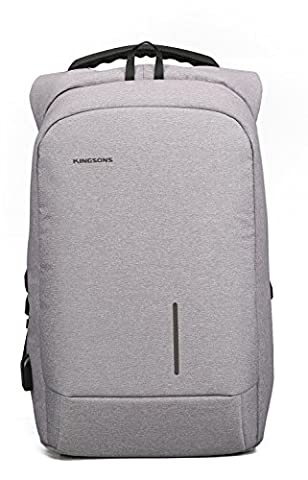 Lightweight Laptop Backpack, Fresion Anti theft Laptop Bag for 15.6 inch Water Resistant Travel Rucksack Durable Business School College Bag Casual Daypack Gray