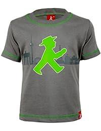 XL Ampelmann Damen T-Shirt Mannequin schwarz Ampelmädchen//Geher Größen XXS