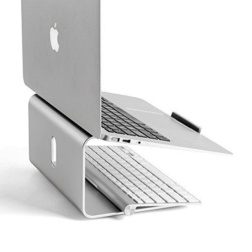 OPUS 2 344301 Laptop Ständer, 25,4-43,18 cm (10-17 Zoll) matt Aluminium