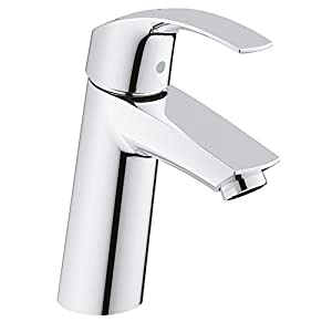 Grohe Eurosmart – Grifo de lavabo, Cuerpo liso, Tamaño  M (Ref. 2339510E)
