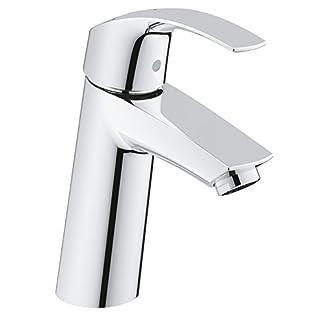 Grohe Eurosmart – Grifo de lavabo con vaciador