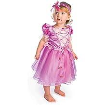 Princesas Disney - Disfraz Rapunzel lujo, talla 18-24 meses, color rosa (Travis Designs DCPRRAP18)