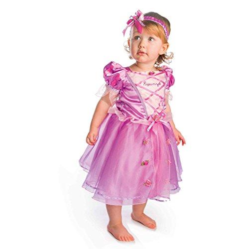 AMSCAN DCPRRAP-018 - Costume Raperonzolo Baby, 1/2 Anni
