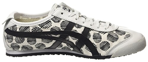 ASICS Mexico 66 D620n-0190-10, Sneakers Basses adulte mixte Blanc (white/black 0190)
