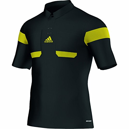 Adidas Schiedsrichter Trikot 13/14 Herren Schwarz-Neongelb, G73814_Größe:XXL