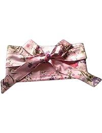 BLANCHO BEDDING Kimono Obi Yukata Obi Mujeres Niñas Corset Belt Obi Waist Belt Waistband, Rosa