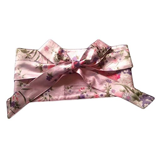 Blancho Kimono Obi Yukata Obi Frauen Mädchen Korsett Gürtel Obi Taille Gürtel Bund, Rosa - Gürtel Kimono Obi