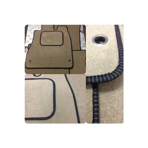 custom-fit-tailor-made-beige-capret-car-mats-with-black-ribbed-trim-for-jaguar-xf-2008-onwards-doubl