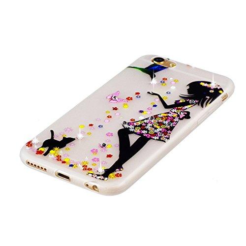 Coque iPhone 7 Plus, Etui iPhone 7 Plus Silicone, SpiritSun Etui Coque TPU Slim Bumper pour Apple iPhone 7 Plus (5.5 pouces) Souple Lumineux Etui Housse de Protection Flexible Soft Case Cas Couverture Lolita