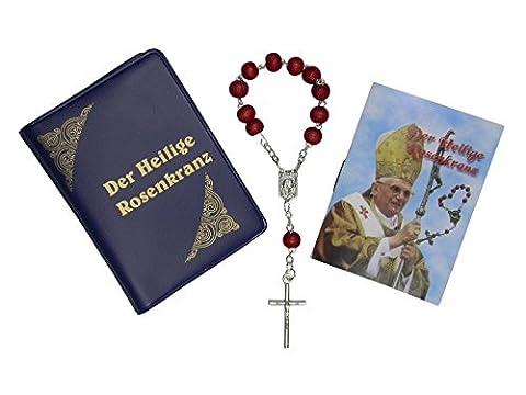 Heiliger Rosenkranz im Etui * Papst Benedikt XVI *