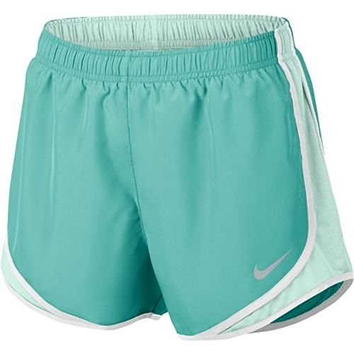 Nike Damen Laufshorts Dry Tempo - grün - Large 35
